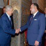 Le Roi Mohammed VI a reçu le milliardaire américain George Soros