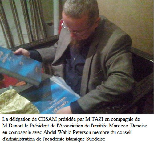 Peterson Imam danois Marrakech