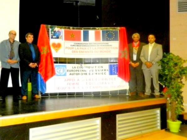 CESAM- Exposition ELASRI Idriss et fête la Marche Verte