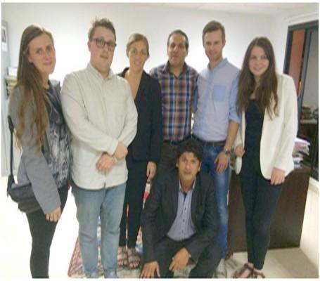 Visite journalistes Danois 5
