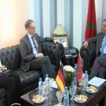 Amara s'entretient avec l'Ambassadeur d'Allemagne au Maroc