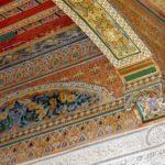 Les plafonds du palais de la Bahia – Marrakech – Maroc