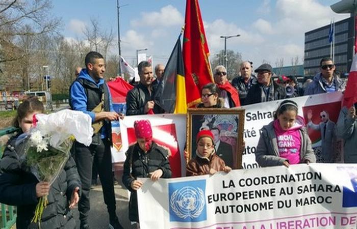 CESAM – Toubkal : La manifestation solidarité pour le Sahara Marocain  et de solidarité avec la Belgique  à Strasbourg le 26 mars 2016 et associations de l'Est de France