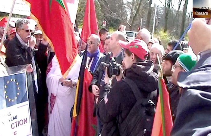 CESAM- Toubkal : vidéo de la manifestation de Strasbourg le 26 mars 2016