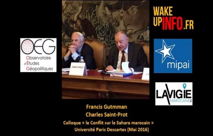 France : Colloque à l'Université Paris Descartes « Le conflit sur le Sahara marocain »