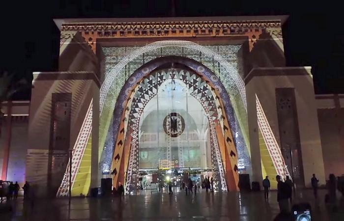 La gare de Marrakech fête la COP22