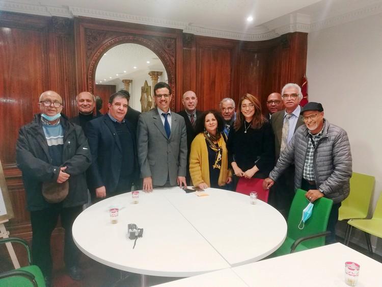Réunion des Associations Est France avec Le consul du Maroc à Strasboug
