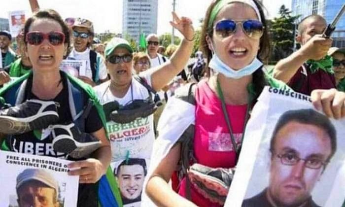 Répression en Algérie : des sit-in à Genève pour interpeller l'ONU